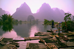 Horizontal de Guilin Images libres de droits