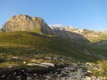 Horizontal de haute montagne Photos stock