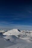 Horizontal de haute montagne Images stock