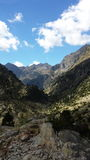 Horizontal de haute montagne Image libre de droits