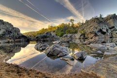 horizontal de hdr d'automne Photo libre de droits