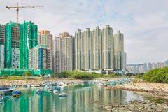 Horizontal de Hong Kong photo stock