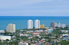 Horizontal de Hua Hin, Thaïlande photos stock
