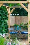 Horizontal de jardin Photo stock