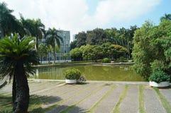 Horizontal de jardin Photo libre de droits