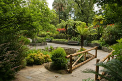 Horizontal de jardin Image libre de droits