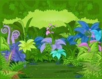 Horizontal de jungle Image libre de droits