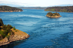 Horizontal de l'état de Washington Photographie stock libre de droits