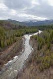 Horizontal de l'Alaska Images libres de droits