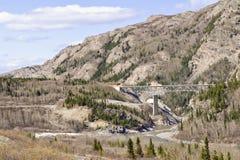 Horizontal de l'Alaska images stock