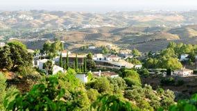Horizontal de l'Andalousie image libre de droits