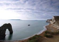 horizontal de l'anglais de Dorset de côte Photo libre de droits