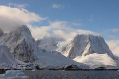 Horizontal de l'Antarctique Photographie stock
