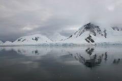 horizontal de l'Antarctique Image libre de droits