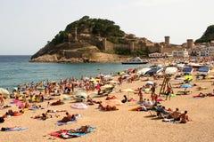 Horizontal de l'Espagne Image stock
