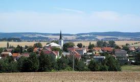 Horizontal de l'Europe centrale Image stock