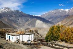 Horizontal de l'Himalaya, Népal Photo libre de droits