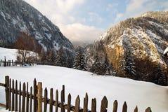 Horizontal de l'hiver image stock