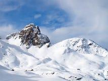Horizontal de l'hiver Photos stock
