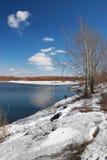 Horizontal de l'hiver. Images libres de droits