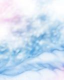 Horizontal de l'hiver La texture de la neige Photo stock