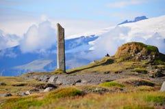 Horizontal de l'Islande Photographie stock