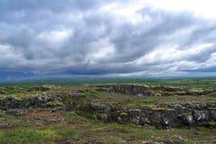 Horizontal de l'Islande Images libres de droits