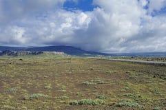 Horizontal de l'Islande méridional Image libre de droits