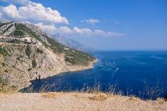 Horizontal de la Croatie images libres de droits