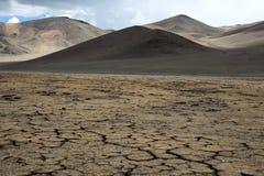 Horizontal de la Mongolie Photographie stock libre de droits