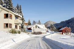 Horizontal de la Norvège Image libre de droits