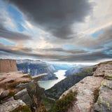Horizontal de la Norvège Photo stock