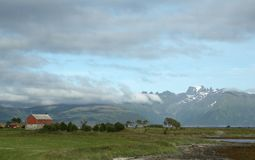 Horizontal de la Norvège Images libres de droits