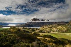 Horizontal de la Nouvelle Zélande photos libres de droits