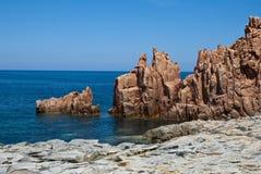 Horizontal de la Sardaigne Image stock