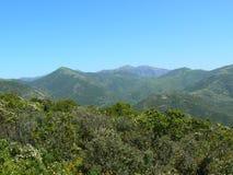 Horizontal de la Sardaigne Images libres de droits