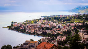Horizontal de la Suisse Image libre de droits