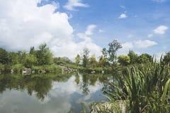 Horizontal de lac Photographie stock libre de droits