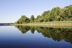 Horizontal de lac Photo stock