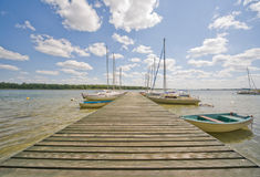 horizontal de lac Photo stock