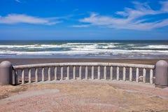 Horizontal de littoral d'océan Images libres de droits