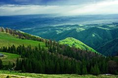 Horizontal de Maountain Image libre de droits