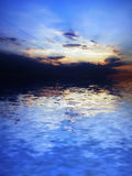 Horizontal de mer Photo stock