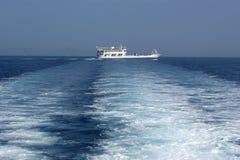 Horizontal de mer Photographie stock