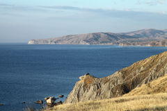 Horizontal de mer Image stock