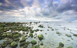 Horizontal de mer Photos libres de droits