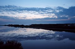 Horizontal de miroir Image libre de droits