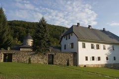 Horizontal de monastère de Gomionica Photos stock