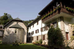 Horizontal de monastère de Lovnica Photo libre de droits