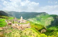 Horizontal de monastère de Tatev Photo stock